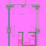Beispiel Grundriss 1-Zimmer-Wohnung Depot 1&2