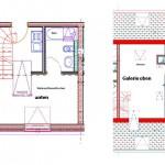 Beispiel Grundriss Maisonette-Wohnung Depot 1&2